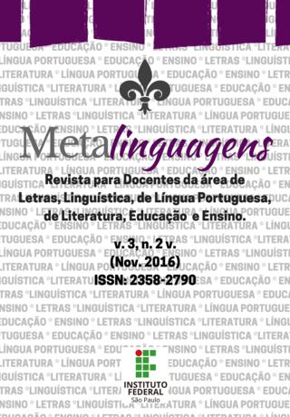 Revista Metalinguagens n. 6